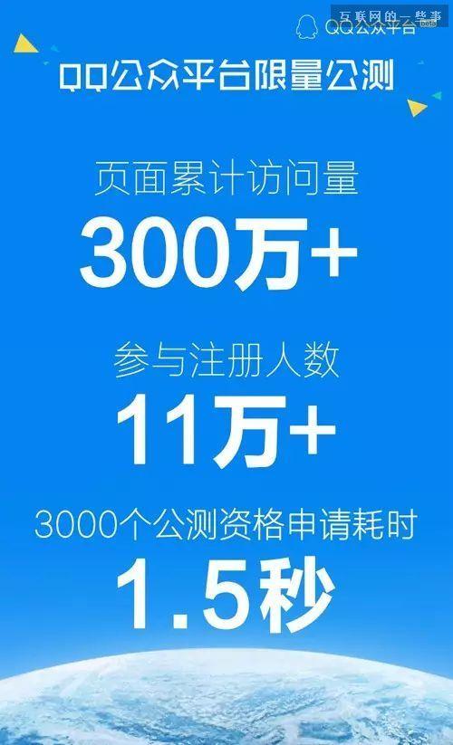 1秒被抢完的那3000个QQ公众号,这四个月发展得怎样,互联网的一些事