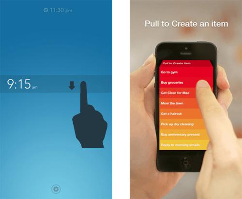 超越按钮 - 谈手势驱动的移动界面设计