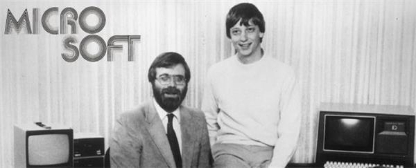 12张图看微软走过的 40 年