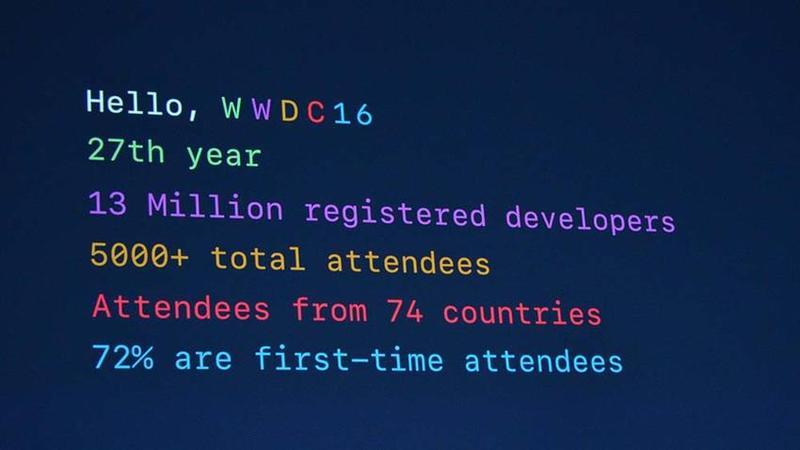 WWDC2016综述:iOS十项重大升级 电脑操作系统改名macOS 没有新电脑