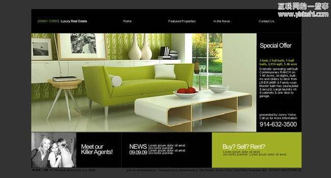 Free Flash Website Templates with .FLA Source Files