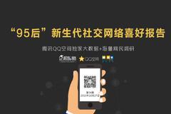 """企鹅智酷联合QQ空间发布:《""""95后""""新生代社交网络喜好报告》(完整报告下载)"""