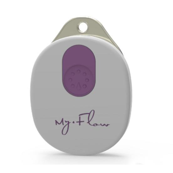 MyFlow智能棉条($49,棉条独立销售) 蓝牙装置与myFlow棉条连接,在手机上的专用应用实时更新数据。