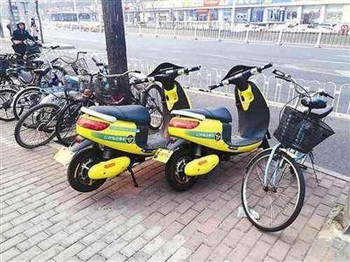 管部门称共享电动单车不合法 已被紧急叫停