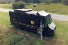UPS试验车载无人机送货,可节省巨额成本