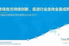2017中国移动营销市场年度综合分析