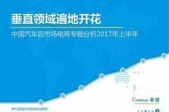 2017年上半年中国汽车后市场诚博娱乐专题分析
