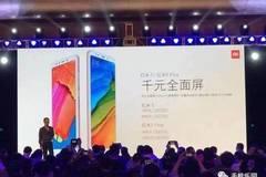 千元全面屏红米5/红米5 Plus发布,售价799元起!