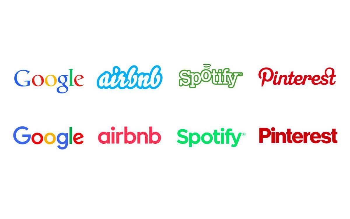 科技公司的 logo 怎么都越长越像了?