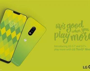 外媒曝光LG G7宣传海报:异形全面屏+骁龙845处理器
