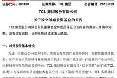 TCL集团拟设立7500万美元海外并购基金和2亿元国内并购基金