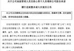 乐视网:多位高管称已无法再继续履行增持计划承诺