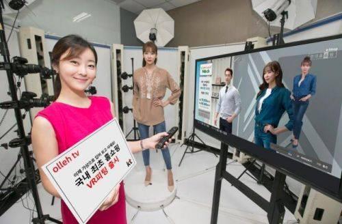 韩国电信为电视购物消费者推出VR试衣服务