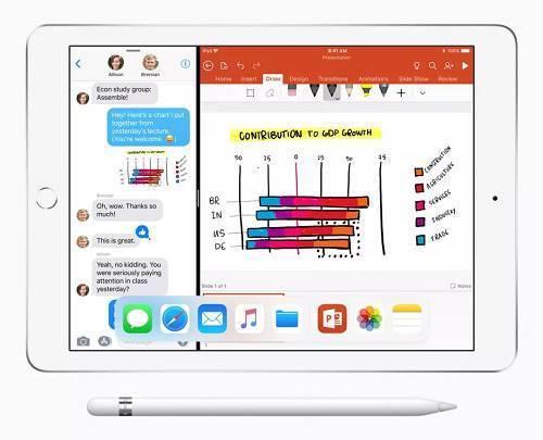 苹果发布廉价版 iPad ,铁了心要和谷歌竞争教育市场