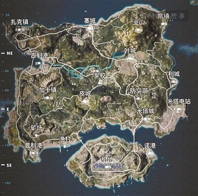 吃鸡游戏地图原型是厦门? 发行方称网友太有想象力