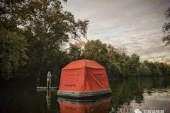 这款帐篷,让你有水的地方都是床!
