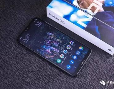 Nokia X6正式发布,高颜值异形屏和骁龙636,售价1299元起