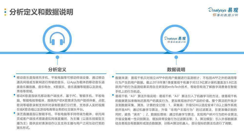 易观:《中国移动音乐市场年度综合分析2018》