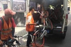 摩拜将在上海回收10万辆单车 投放5万辆新车