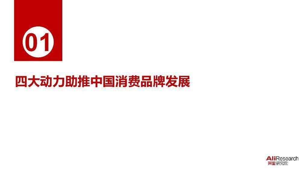 阿里研究院:中国消费者品牌报告