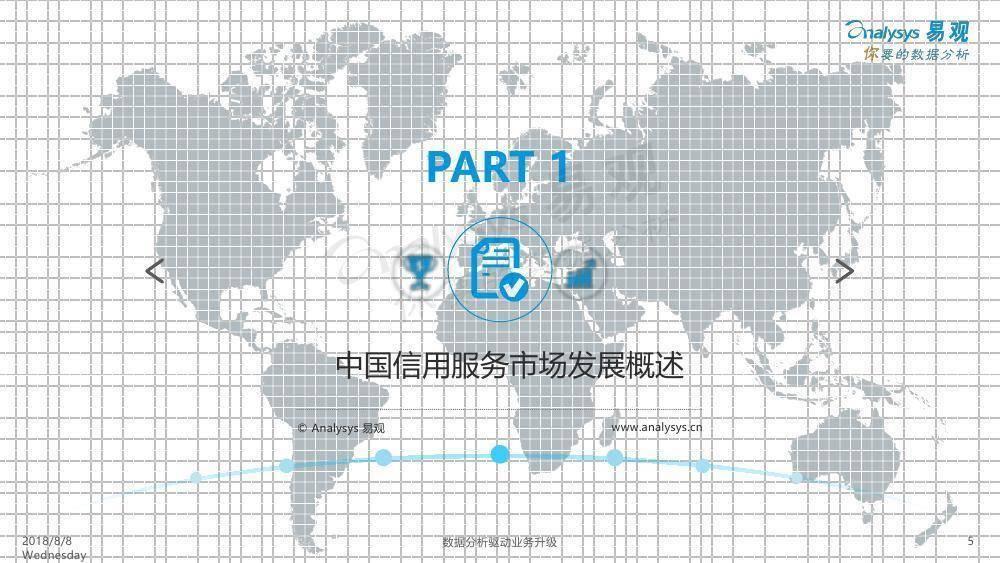 易观:中国信用服务市场专题分析2018