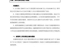 乐视网:上半年预亏逾11亿 公司存股票被暂停上市风险