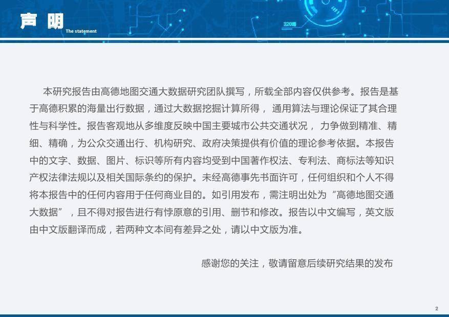 高德地图:2017都会交通[jiāotōng][jiāotōng]大数据理会报告