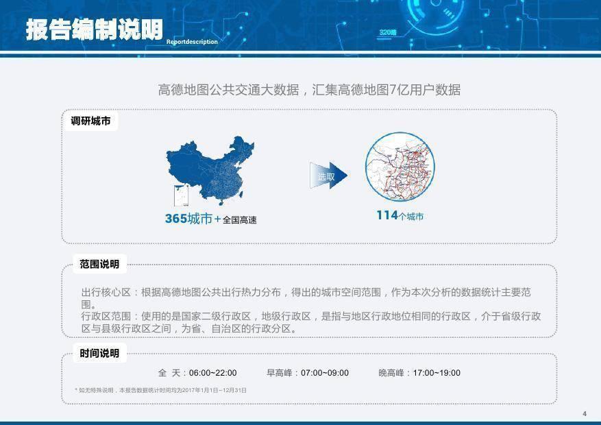 高德地图:2017年度中国主要城市公共交通大数据分析报告