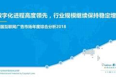 易觀:中國互聯網廣告市場年度綜合分析