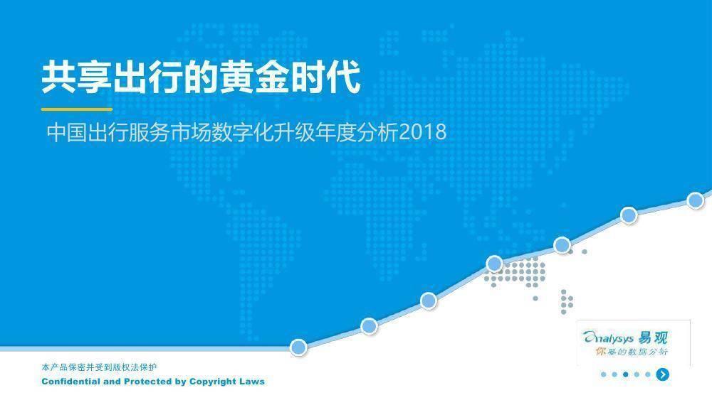 易观:中国出行服务市场数字化升级年度分析2018