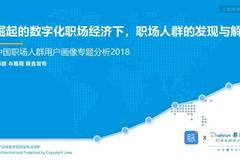 易观:中国职场人群用户画像专题分析2018