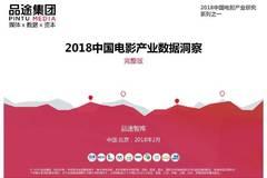 品途智库:2018中国电影产业数据洞察