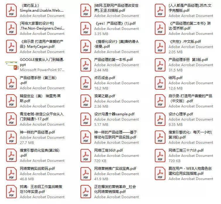 『打包送』400本畅销的互联网行业电子书,含互