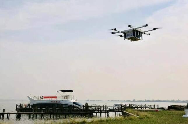 顺丰获批阳澄湖空域,农特产品步入无人机运输时代