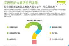 艾瑞咨询:2018年中国运动大数据行业研究报告