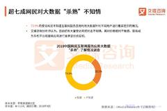 """艾媒报告:2018中国大数据""""杀熟""""网民态度行为调查报告"""
