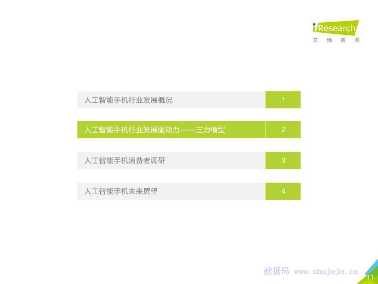 艾瑞咨询:2018年中国人工智能手机行业研究报告