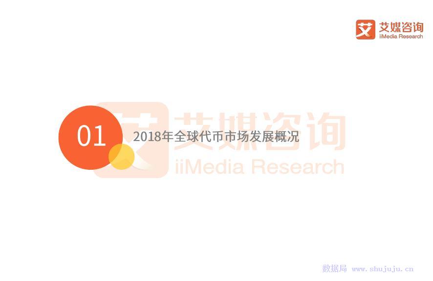 艾媒报告:2018全球代币市场专题研究报告
