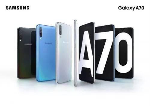 中端机三星Galaxy A70发布:内置4500mAh超大容量电池