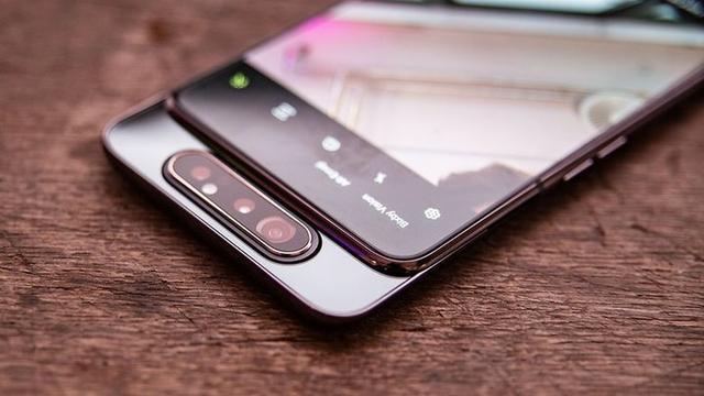 原创              三星Galaxy A80发布,升降式旋转摄像头!