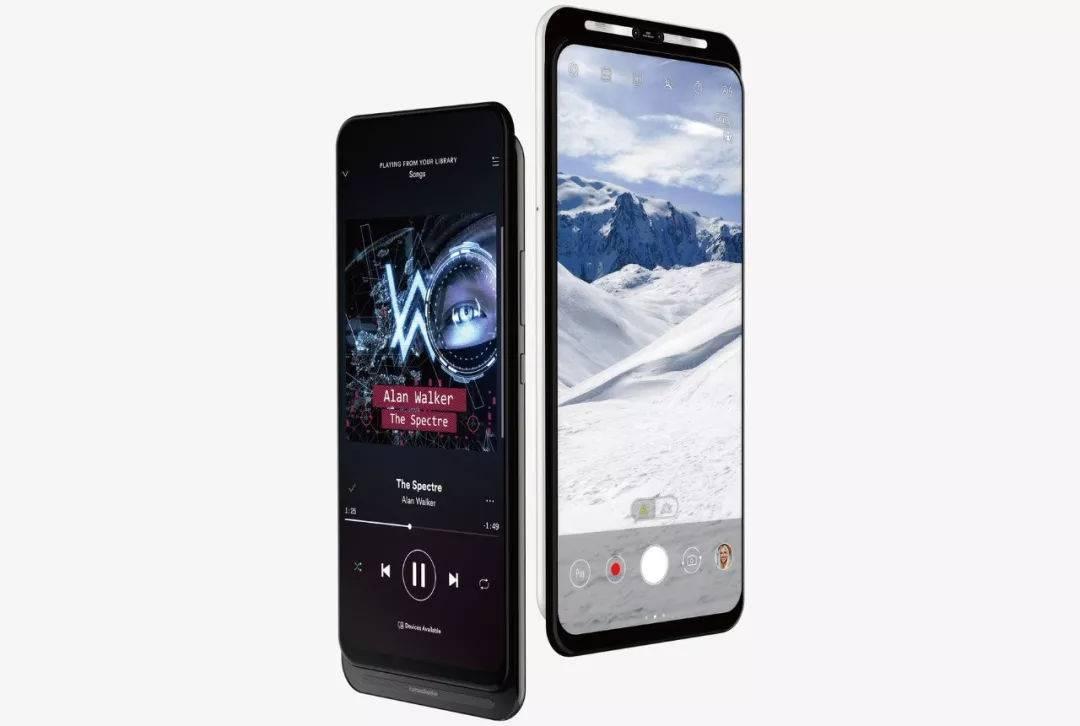 华硕首款5G手机渲染图曝光:独特滑盖设计