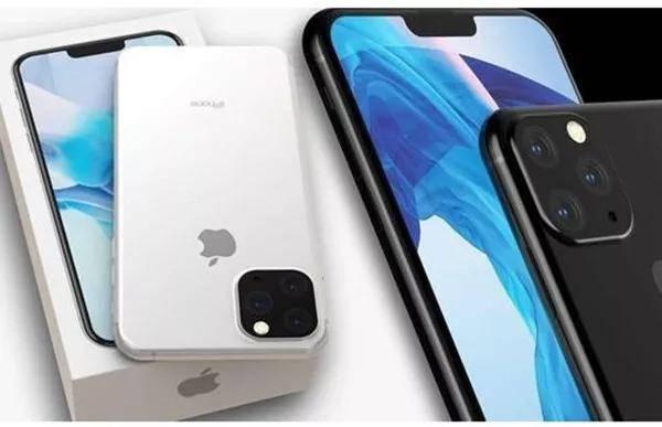 三款新iPhone渲染图曝光:矩阵三摄设计