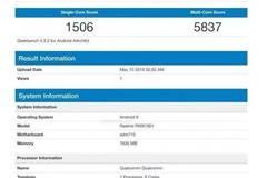 realme X跑分数据曝光:骁龙710+8GB运存