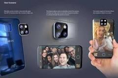 新一代vivo NEX概念图曝光:可拆卸摄像头
