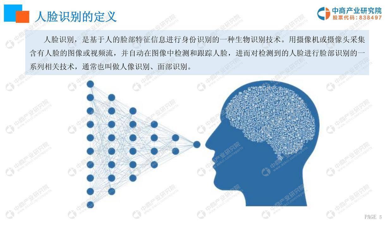 中商文库:2019年中国人脸识别行业市场前景研究报告