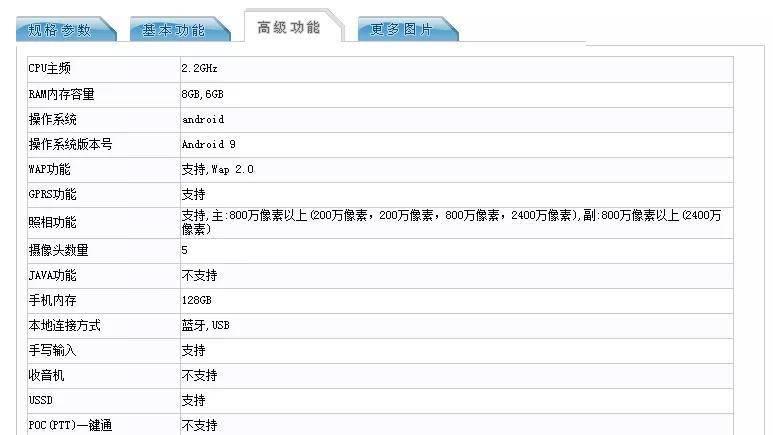 华为新机现身工信部:后置四摄+麒麟710