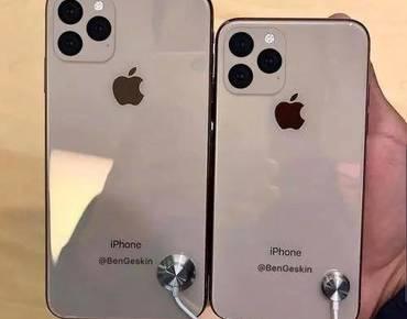 iPhoneXI/XI MAX机模渲曝光:浴霸式摄像头着实抢眼