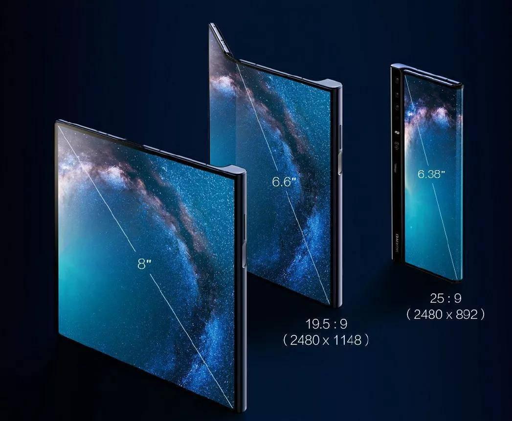 折叠屏手机华为Mate X线下海报曝光:或于近期开售