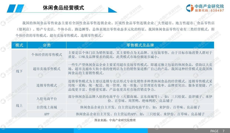 中商文库:2019年中国休闲食品行业市场前景研究报告