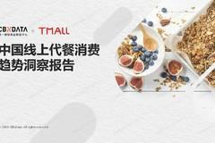 CBNData:中国线上代餐消费趋势洞察报告